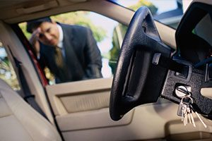 car key locked in the car, automotive locksmiths can help