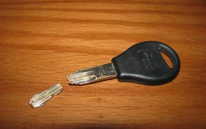 broken car key